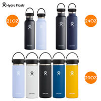 Hydro Flask 20oz / 21oz /24oz Water Bottle - Standard Wide Mouth Stainless Steel