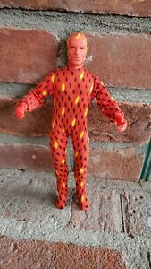 "Vintage 1975 Mego Human Torch Original Fantastic Four 8"" Action Figure"