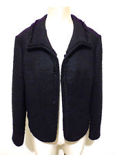 CULT VINTAGE '60 Giacca Donna Lana Caban Woman Wool Jacket Sz.XL - 48