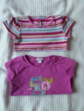 2 TEE SHIRT MANCHES COURTES FILLE 4 ANS ORCHESTRA  ETE