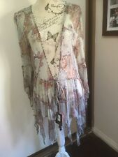 Kate Moss Top Shop Boho Rock Chick Dress Robe New With Tag UK 12/US 8