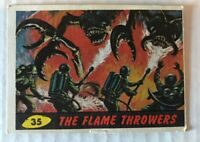 1962 MARS ATTACKS Topps/Bubbles Trading Card #35 The Flame Throwers Card