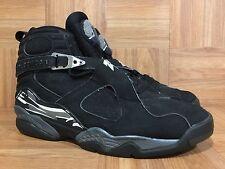 RARE? Nike Air Jordan 8 VIII Retro Black Chrome Sz 7.5 305381-001 2003 Release