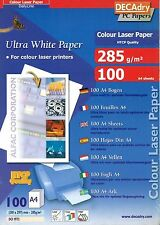 Decadry DCI-1972 Ultra White Paper A4 Writing Paper Printer Paper