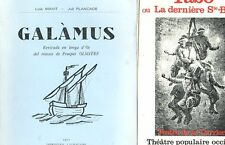 2 LIVRES EN OCCITAN TABO OU LA DERNIERE STE BARBE et GALAMUS de MAVIT & PLANCADE