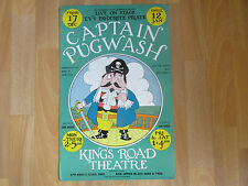Captain  PUGWASH  TV's Favourite Pirate Live on Stage  KINGS ROAD Theatre Poster