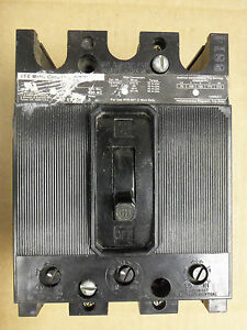 ITE EF3 EF3-A030 3 pole 30 amp 480v EF3-A030 Circuit Breaker CHIPPED