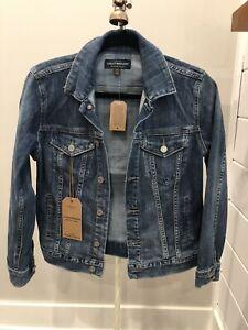 NWT Womens Lucky Brand Denim Jean Jacket Size Small