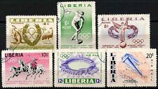 Liberia 1956 SG#784-9 Olympic Games Used Set #D39623