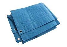 SHINE HEAVY DUTY TARPAULIN TARP WATERPROOF GROUND SHEET COVER 6x4 blue