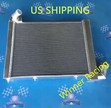 Aluminum Radiator Fit CHEVY CORVETTE C2 M/T 1963-1972 1967 1968 UP to 1000HP