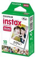 FUJIFILM Instant Camera Cheki Film 10 pieces Plain Japan Import