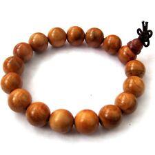 Ormosia Fir Wood Prayer Beads Tibet Buddhist Mala Bracelet