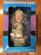 NEW 2003 Curt Schilling Greensboro Hornets Bats Limited Edition Bobble Head