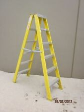 Double sided Fibreglass Ladder 1.8M 6 foot 6' 150KG Austalian standard New