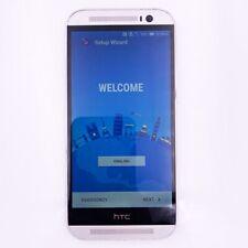 HTC ONE M7 HTC6500L Verizon Smartphone - Silver - GOOD + Chrger
