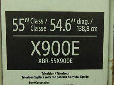 "Sony XBR-55X900E 55"" 4K Ultra HD HDR 120Hz LED LCD Smart TV XBR55X900E"