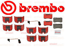 Mercedes CL65 CLS55 S5 SL55 SL65  AMG Front + Rear Ceramic Pads+Sensors Brembo