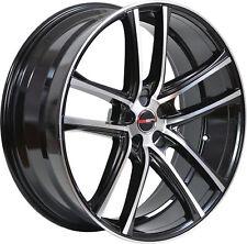 4 GWG Wheels 20 inch Black Machined ZERO Rims fits INFINITI M37X 2011 - 2013