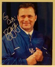 Billy Clyde Gillispie Kentucky Wildcats Basketball Coach Signed 8x10 Photo