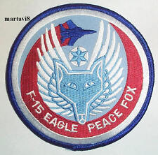 US. Air Force `F-15 EAGLE - PEACE FOX` Aircraft Cloth Badge / Patch (F15-3)