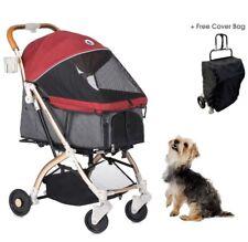 HPZ Pet Rover Lite Premium Light-Weight Dog/Cat/Pet Stroller *Ruby Red*