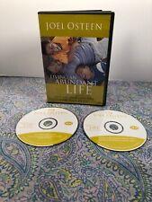 CD ~ JOEL OSTEEN - LIVING THE ABUNDANT LIFE