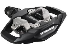Shimano PD-M530 MTB XC TRAIL Clipless SPD Pedals inc. Cleats BLACK EPDM530