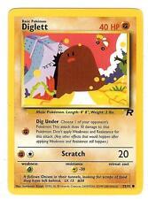 Pokemon Team Rocket Diglett Common 52/82 - NearMint