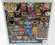 Funko Pop! DC Comics Heroes Collage Puzzle 1000 Pieces NEW COLLECTIBLE