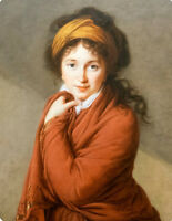 """oil painting handpainted on canvas """"Portrait of Countess Golovina  """""""