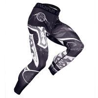 Men's Compression Leggings Base Layer Pants Running Workout Baseball Yoga Sports