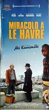 locandina playbill CINEMA MIRACOLO A LE HAVRE KAURISMAKI ANDRE WILMS OUTINEN