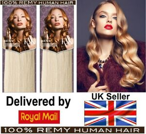 """100% Grade A Remy Cuticle Weft 18"""" Human Hair Weave Extensions"""