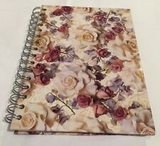Tri Coastal  Desk Companion NEW VINTAGE 1997 Journal Floral Cover Ruled Pages