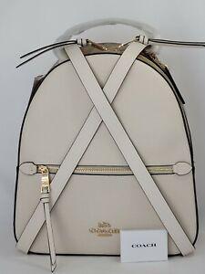 Coach Signature Jordyn Backpack Leather Code 76622. NWT $398