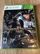 Dragon's Dogma (Microsoft Xbox 360, 2012) Cib Game Works ES