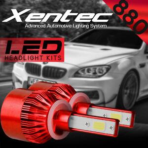 880 Auto Car LED Headlight Conversion Kit 388W 38800LM COB Headlamp 6000K White