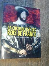 La chronologie des rois de France / Jean-Benoît Durand