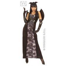 HALLOWEEN CARNEVALE COSTUME VESTITO GOTHIC BAT LADY DONNA TAGLIA S