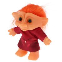 Vintage Troll Dolls Lucky Leprocauns Doll Dollhouse Mini Figures Toy Crafts