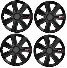 "SET OF 4 15/"" UNIVERSAL WHEEL TRIMS COVER,RIMS,HUB,CAPS TO FIT FIAT GIFT #9"