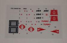 GI Joe Cobra Stinger Sticker Decal Sheet