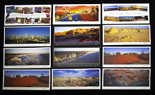 Set of 12 x Western Australian Postcards, Perth, Kangaroo, Outback