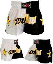 Maxx Muay Thai Fight Shorts MMA Kick Boxing Grappling Martial Arts Gear Men wyb