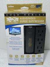 TRIPP LITE AUDIO VIDEO SURGE SUPPRESSORS GOLD SERIES AVSWIV6  ROTATE 2100 BLACK