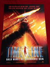 Timeline Kinoplakat A1 Paul Walker, Gerard Butler, Teaser