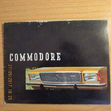OPEL COMMODORE Saloon Coupe GS 2.5 UK Market Original Car Sales Brochure 1970s