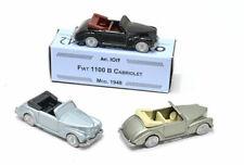 # 1:76 FIAT 1100 B CABRIOLET 1948 OFFICINA 942 (ART. 1019) DIECAST MIB #