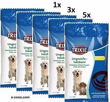 Trixie Vermin Neck Band for Dogs, 60 CM, Braun, 1er, 3er & 5er Value Pack